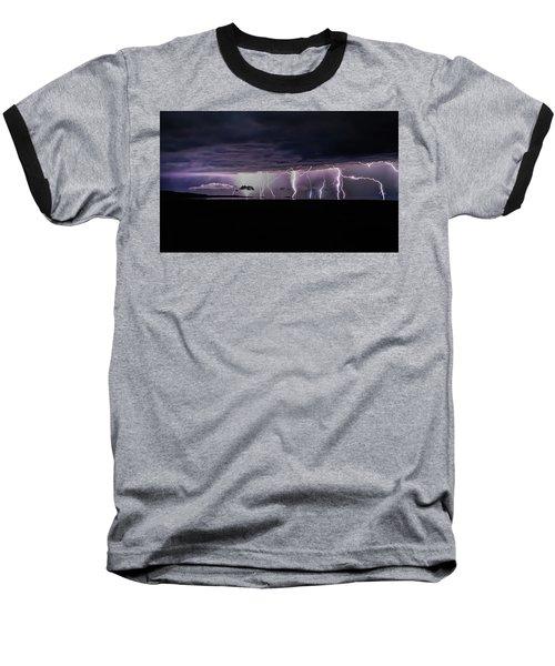 Fingers Of God Baseball T-Shirt