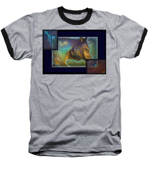 Lightning Path Baseball T-Shirt