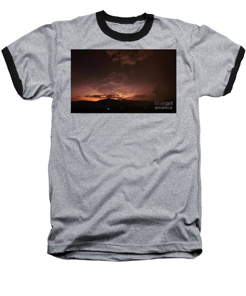 Lightning Streaks  Baseball T-Shirt