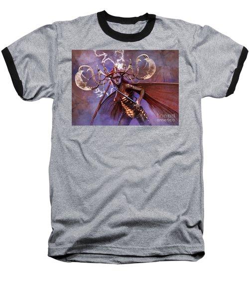Lightning Strikes Baseball T-Shirt