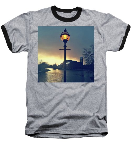 Let There Be Light. Baseball T-Shirt