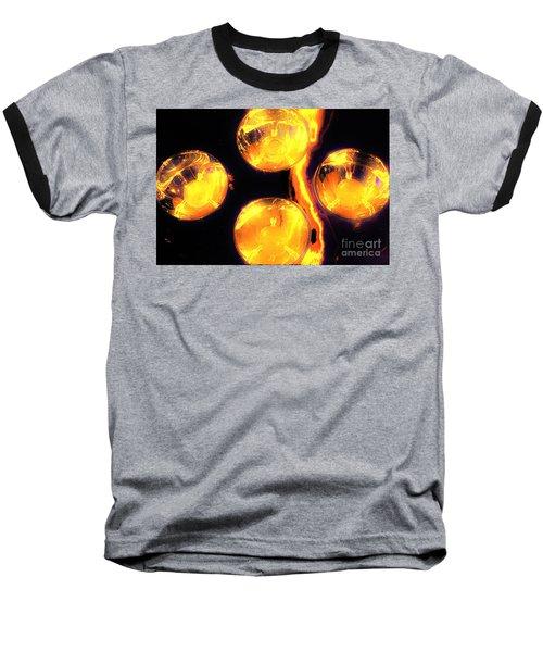Lights Under Glass3 Baseball T-Shirt