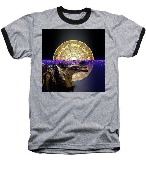 Baseball T-Shirt featuring the digital art Lightscape 24 by Robert Thalmeier