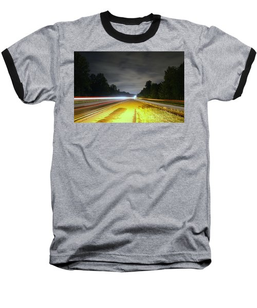 Baseball T-Shirt featuring the photograph Lightworks by Alex Grichenko