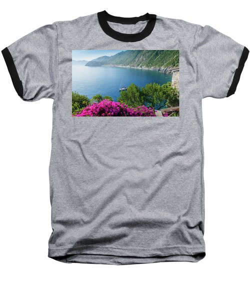 Ligurian Sea, Italy Baseball T-Shirt