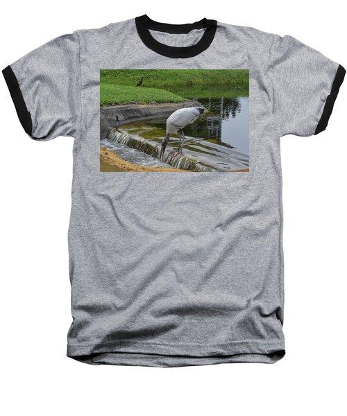 Like A Bear At A Salmon Run Baseball T-Shirt
