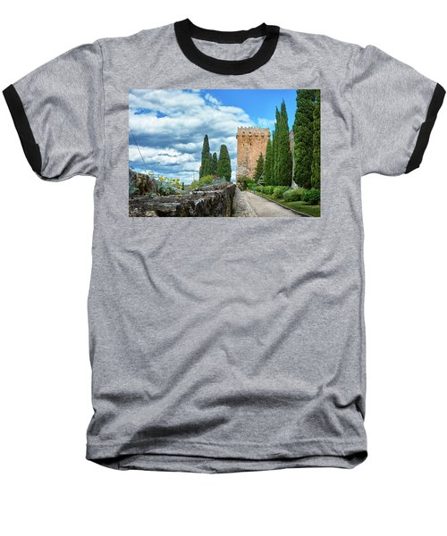 Like A Fortress In The Sky Baseball T-Shirt