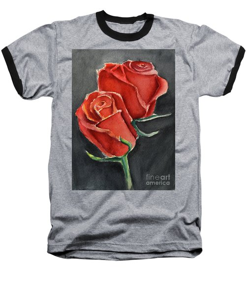 Like A Rose Baseball T-Shirt
