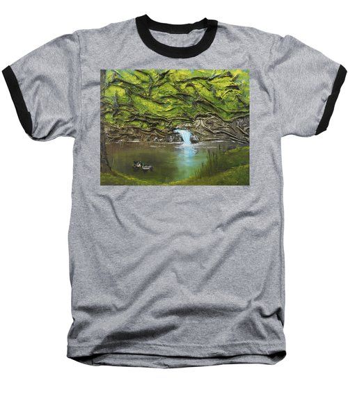 Like Ducks On Water Baseball T-Shirt