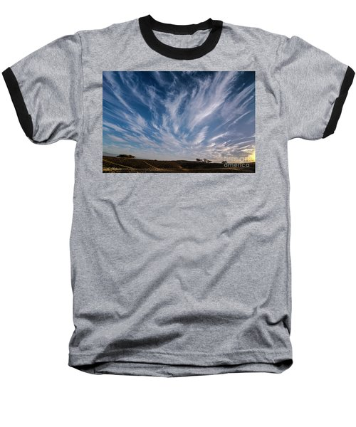 Like Feathers In The Sky Baseball T-Shirt