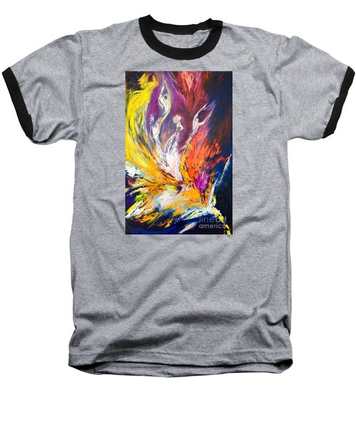 Like Fire In The Wind Baseball T-Shirt