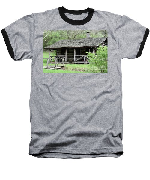 Lil Cabin Home On The Hill  Baseball T-Shirt
