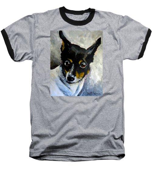 Lil Rat Terrier Baseball T-Shirt