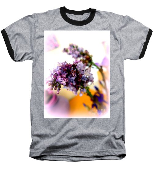 Lilac Beauty Baseball T-Shirt