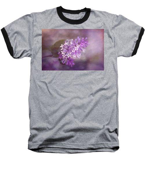 Baseball T-Shirt featuring the photograph Lilac Blossom by Tom Mc Nemar