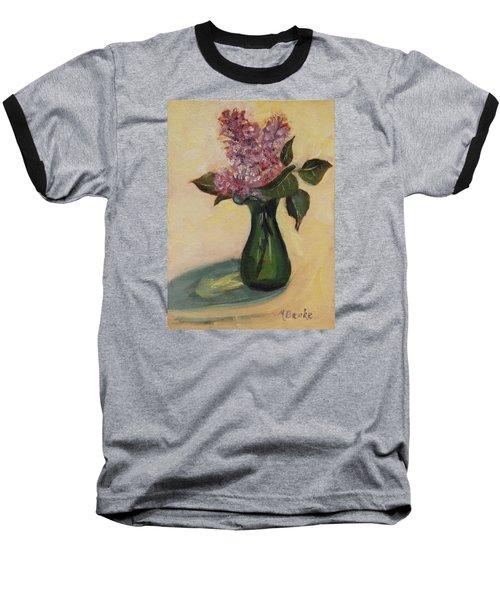 Lilac Reflections Baseball T-Shirt