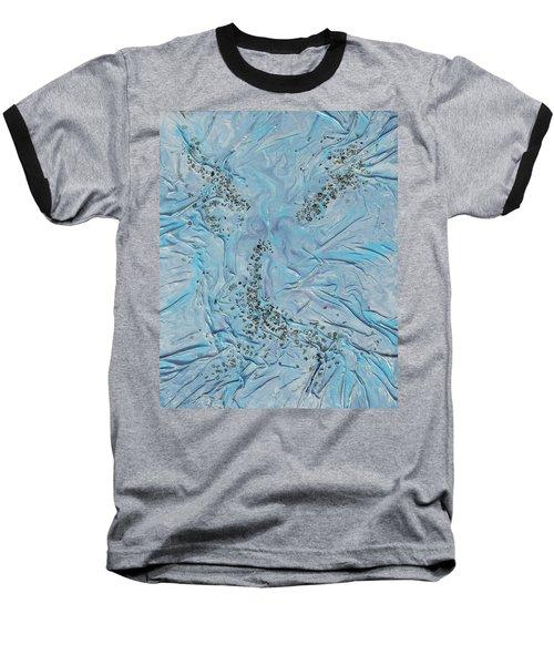 Lilac Sunstones Baseball T-Shirt by Angela Stout