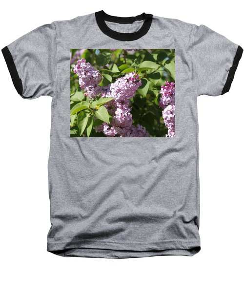 Baseball T-Shirt featuring the photograph Lilacs 5544 by Antonio Romero