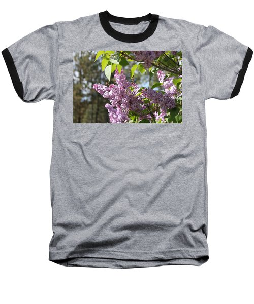 Baseball T-Shirt featuring the photograph Lilacs 5545 by Antonio Romero