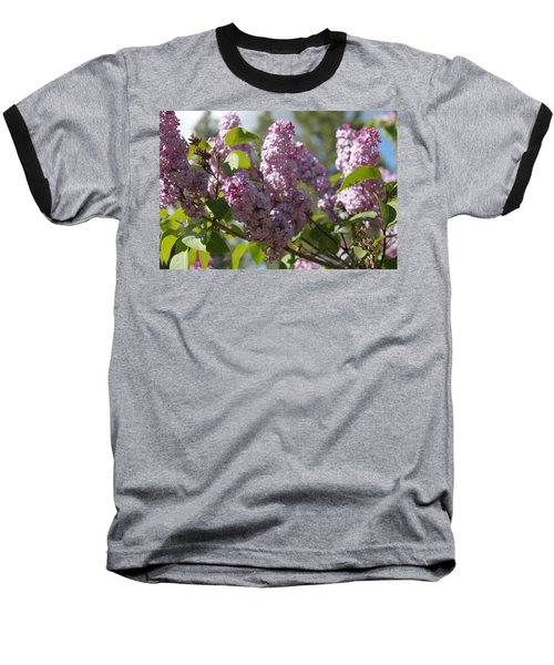 Baseball T-Shirt featuring the photograph Lilacs 5548 by Antonio Romero