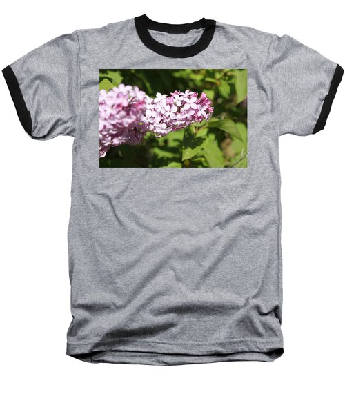 Baseball T-Shirt featuring the photograph Lilacs 5550 by Antonio Romero