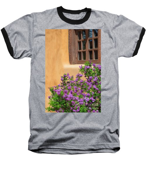 Lilacs And Adobe Baseball T-Shirt