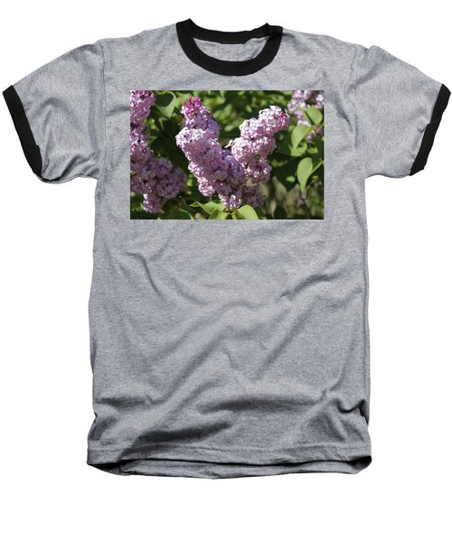 Baseball T-Shirt featuring the digital art Lilacs by Antonio Romero