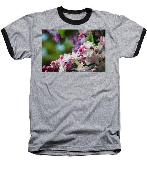 Lilacs Of Spring Baseball T-Shirt