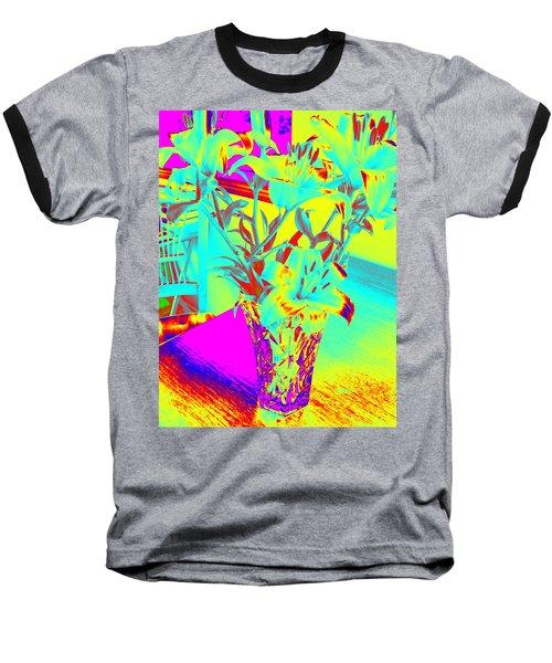 Lilies #4 Baseball T-Shirt
