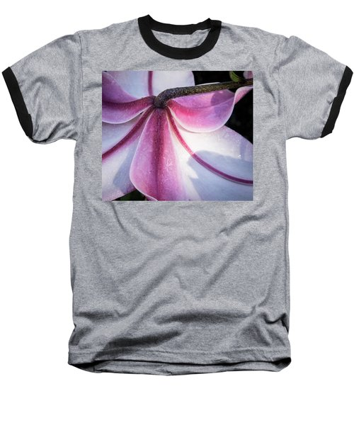 Baseball T-Shirt featuring the photograph Lilies Backside by Jean Noren