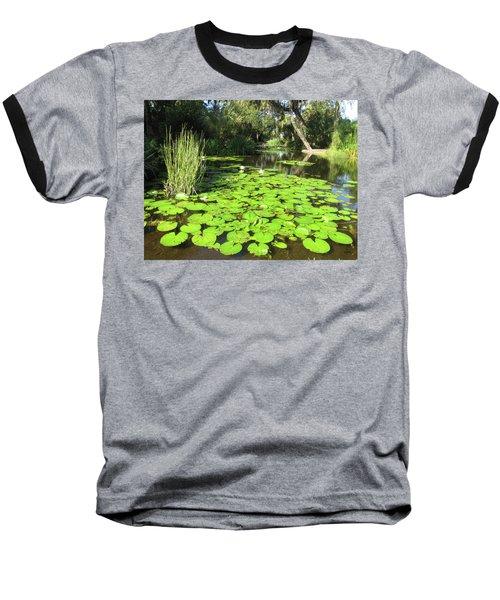 Lilies Of Bok Gardens Baseball T-Shirt