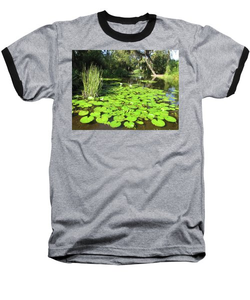 Lilies Of Bok Gardens Baseball T-Shirt