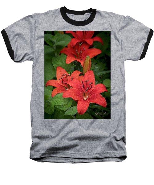 Lilies Baseball T-Shirt