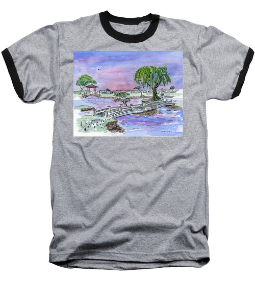 Liliuokalani Park Hilo Hawaii Baseball T-Shirt