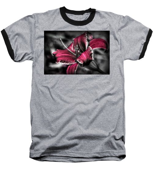 Baseball T-Shirt featuring the photograph Lilly 3 by Michaela Preston