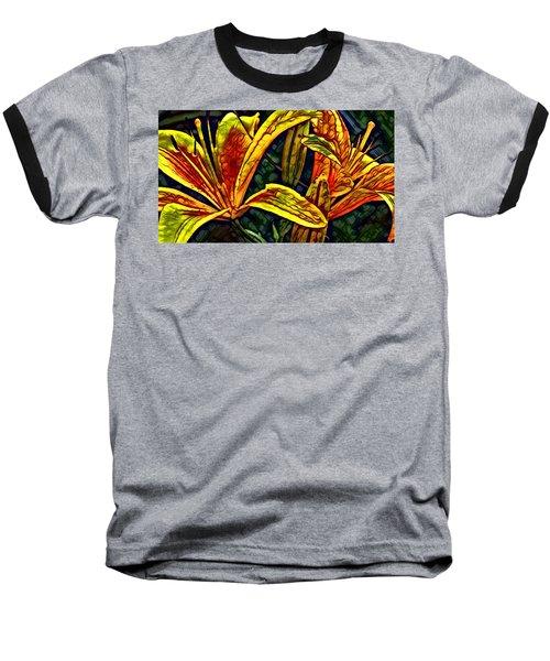 Lilly Fire Baseball T-Shirt