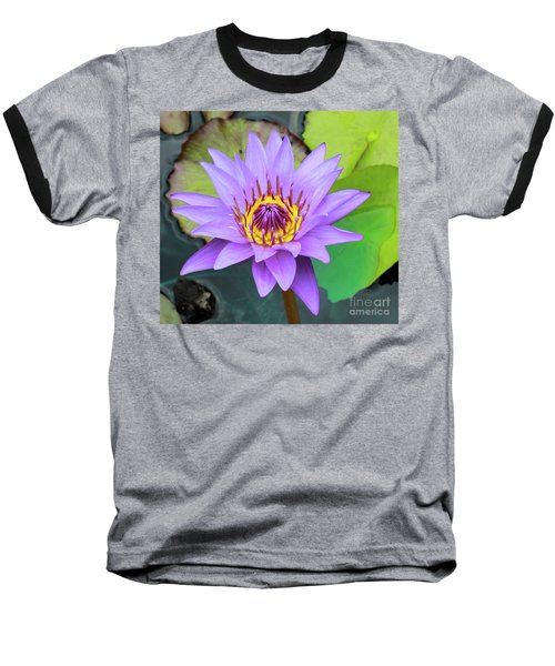 Lilly In Purple  Baseball T-Shirt