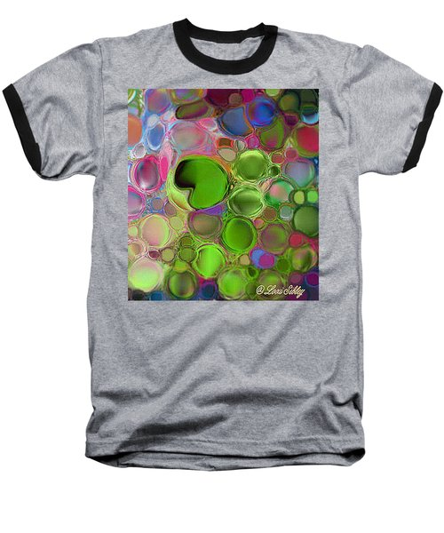 Lilly Pond Baseball T-Shirt by Loxi Sibley