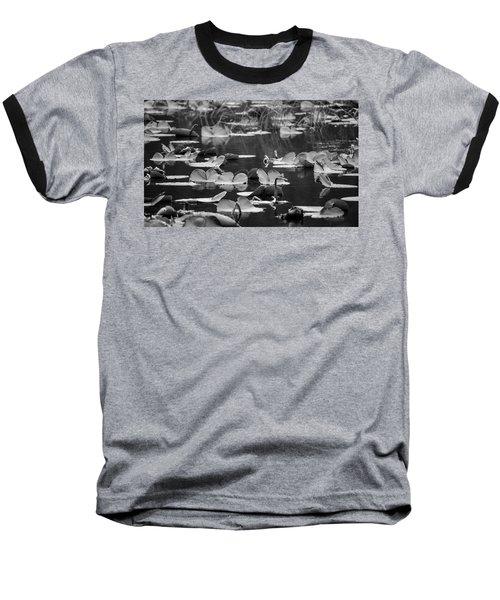 Lilly Pond  Baseball T-Shirt