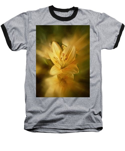 Baseball T-Shirt featuring the photograph Lily Be Mine by Richard Cummings