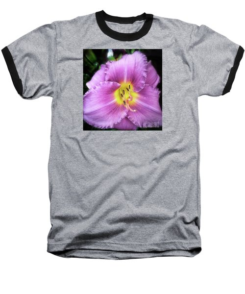 Lily In The Shade Baseball T-Shirt