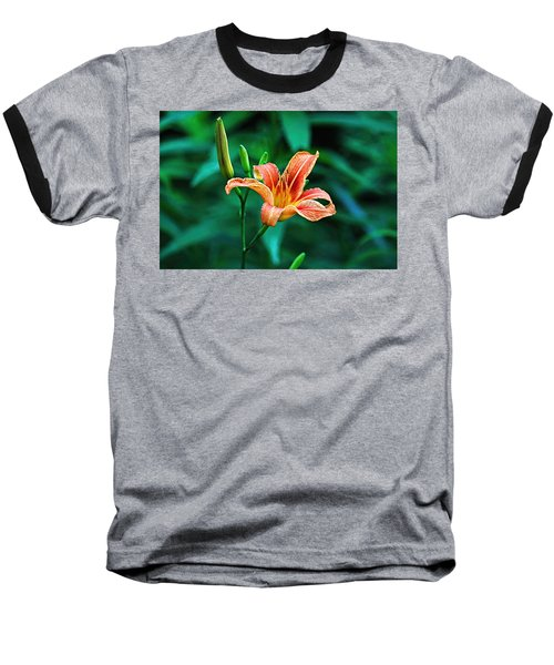 Lily In Woods Baseball T-Shirt