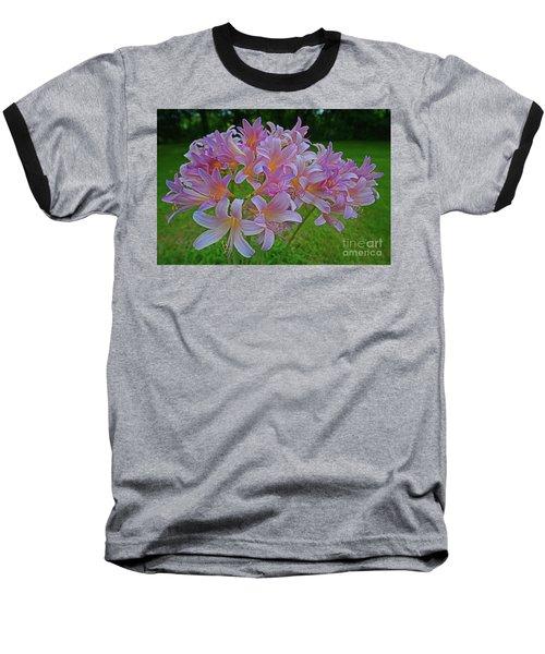 Lily Lavender Baseball T-Shirt