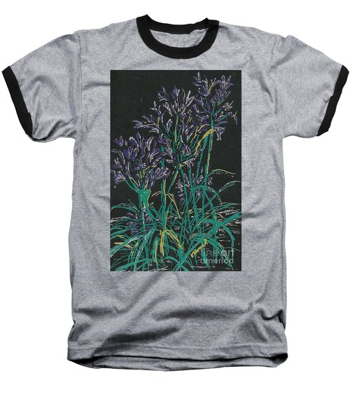 Baseball T-Shirt featuring the mixed media Lily Of The Nile  by Vicki  Housel