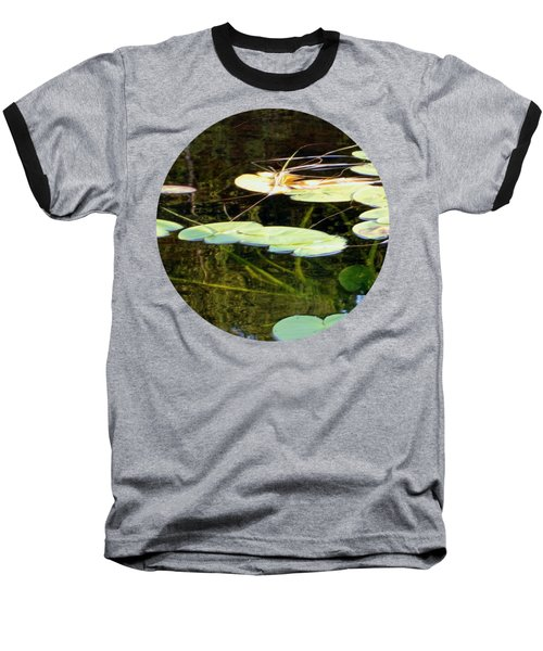 Lily Pads On The Lake Baseball T-Shirt