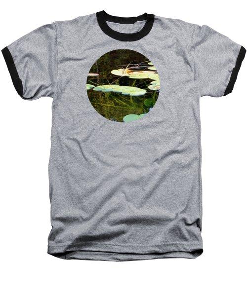 Lily Pads On The Lake Baseball T-Shirt