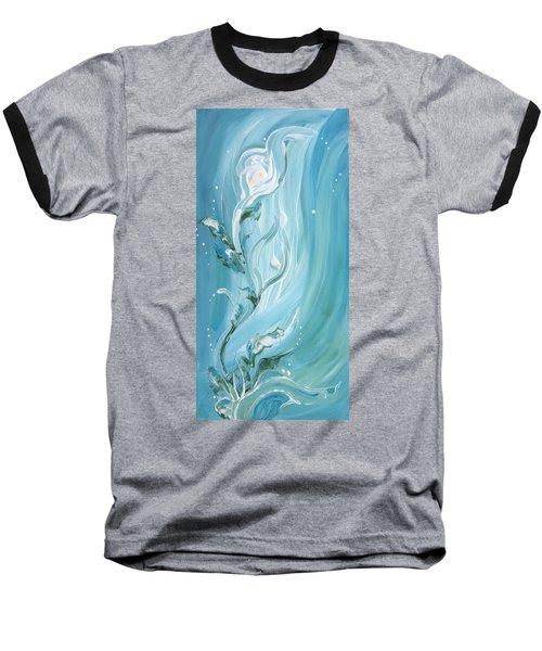 Lily Baseball T-Shirt by Pat Purdy