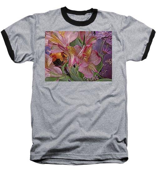 Lily Profusion 7 Baseball T-Shirt