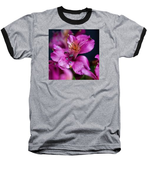 Baseball T-Shirt featuring the photograph Lily by Susi Stroud