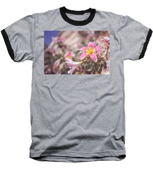 Baseball T-Shirt featuring the photograph Lily Tree. Flowers Of Malaga by Jenny Rainbow